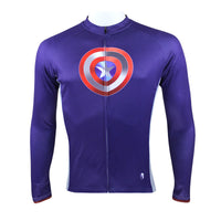 Super Hero Summer Spring Short/Long-sleeve Cycling Jersey T-shirt Batman/Spider-Man/spider man/Green Lantern/ Captain American /Superman/ Iron Man -  Cycling Apparel, Cycling Accessories | BestForCycling.com