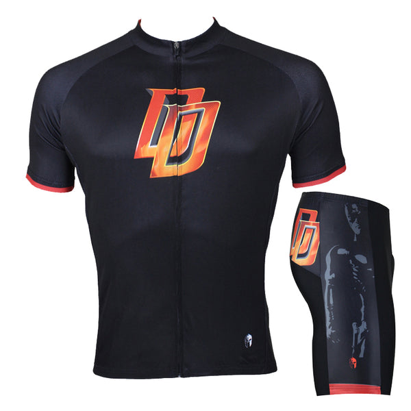 Marvel Comics Super Hero Short/Long-sleeve Cycling Jersey T-shirt Summer Spring Autumn Clothes Apparel Outdoor Sports Gear Leisure Biking Sportswear Daredevil NO.041 -  Cycling Apparel, Cycling Accessories | BestForCycling.com