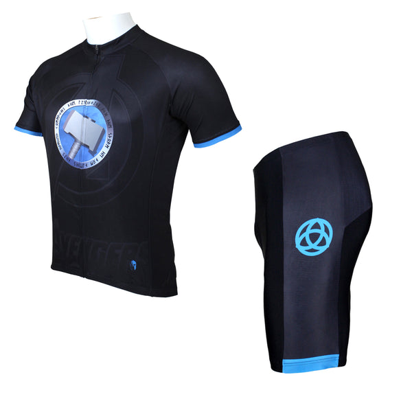 Thor's Hammer Men's Cycling Jersey Marvel Comics Super Hero jerseys NO.042 -  Cycling Apparel, Cycling Accessories | BestForCycling.com