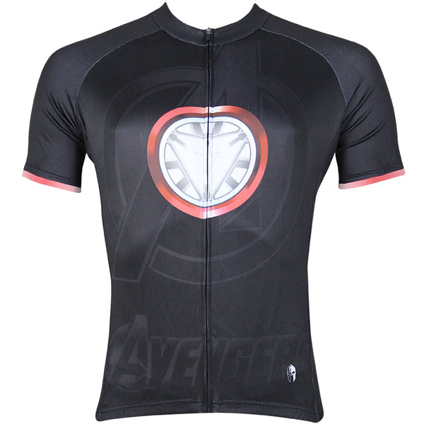 056a0809f Marvel Comics Super Hero Thor s Hammer Men s Short Long-sleeve Cycling  Jersey Jacket T