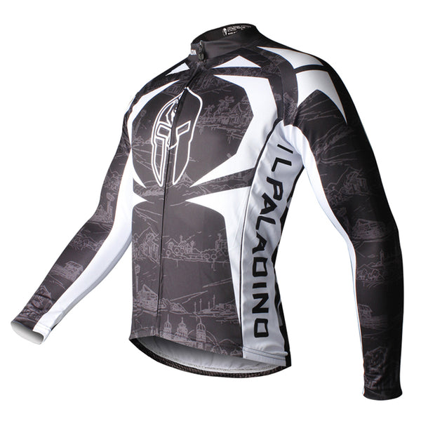ILPALADINO Men's Sport Long Sleeve Cycling Jerseys Winter Exercise Bicycling Pro Cycle Clothing Racing Apparel Outdoor Sports Leisure Biking Shirts (Velvet) NO.009 -  Cycling Apparel, Cycling Accessories | BestForCycling.com