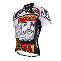Poker Face Playing Card Diamonds King Men's Cycling Jersey Summer Face Cards Court Cards NO.638 -  Cycling Apparel, Cycling Accessories | BestForCycling.com