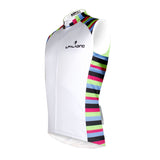 Colorful Side White Men's Cycling Sleeveless Bike Jersey T-shirt NO.W 674 -  Cycling Apparel, Cycling Accessories | BestForCycling.com