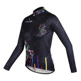 Black Woman's Cycling Jerseys Black embroidery Jerseys.712 -  Cycling Apparel, Cycling Accessories | BestForCycling.com