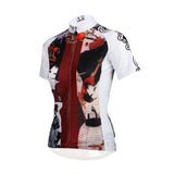 Ilpaladino Traditional Japanese Girl Breathable Cycling Jersey Women's Short-Sleeve Sport Bicycling Shirts Summer Quick Dry Wear Apparel Outdoor Sports Gear Leisure Biking T-shirt NO.644 -  Cycling Apparel, Cycling Accessories | BestForCycling.com