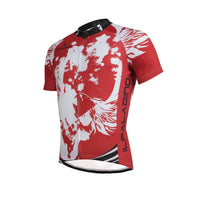Ilpaladino Angel White Wing Feather Red Sport Breathable Cycling Jersey Men's  Short-Sleeve Sport Bicycling Shirts Summer Quick Dry Wear NO.657 -  Cycling Apparel, Cycling Accessories | BestForCycling.com