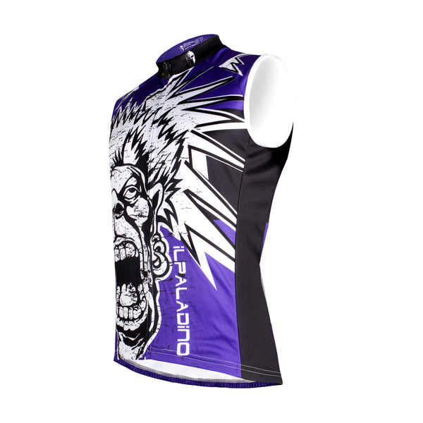 Angry Bellow Crazy Purple Men's Cycling Sleeveless Bike Jersey T-shirt Summer Spring Road Bike Wear Mountain Bike MTB Clothes Sports Apparel Top NO.W 669 -  Cycling Apparel, Cycling Accessories | BestForCycling.com