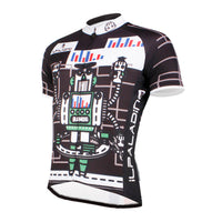 ILPALADINO Men's Cycling Apparel Crazy Robot Pattern Bike Shirt for Summer Quick Dry Comfortable Short Sleeve NO.747 -  Cycling Apparel, Cycling Accessories | BestForCycling.com