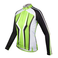 Ilapaladino Fluorescent Green Woman's Short/Long-sleeve Cycling Shirt Bike Jersey Bicycling Suit Pro Cycle Clothing Racing Apparel Outdoor Sports Leisure Biking T-shirt  NO.713 -  Cycling Apparel, Cycling Accessories | BestForCycling.com