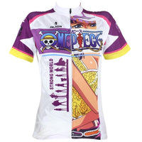 ONE PIECE Series Nico Robin Paramecia-type Flower-Flower Fruit Woman's Short-sleeve Cycling Jersey Team Leisure Jacket T-shirt Pretty Summer Spring Autumn Clothes Sportswear Anime Archaeologist NO.073 -  Cycling Apparel, Cycling Accessories | BestForCycling.com