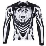 ILPALADINO Rock Racing Skull Black Men's Bike Long-sleeve Cycling Jersey Road/Mountain Bike Wear Breathable  Spring Autumn Exercise Bicycling Pro Cycle Clothing Racing Apparel Outdoor Sports Leisure Biking Shirts NO.74 -  Cycling Apparel, Cycling Accessories | BestForCycling.com