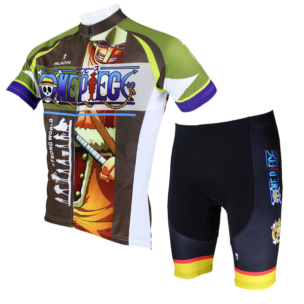 ONE PIECE Series Pirates Usopp Men's Cycling Suit Jersey Team Jacket T-shirt Summer Spring Autumn Clothes Sportswear Anime NO.075 -  Cycling Apparel, Cycling Accessories | BestForCycling.com