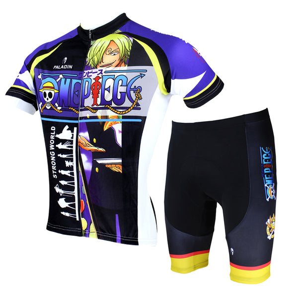 ONE PIECE Series Pirates Vinsmoke Sanji Men's Cycling Suit Jersey Team Jacket Leisure T-shirt Summer Spring Autumn Clothes Sportswear Anime Manga  NO.076 -  Cycling Apparel, Cycling Accessories | BestForCycling.com