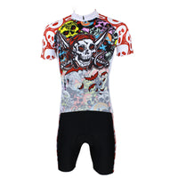 ILPALADINO Pirate Skull Men's Short Sleeves Cycling Jersey Sport Suit  Spring Autumn Exercise Bicycling Pro Cycle Clothing Racing Apparel Outdoor Sports Leisure Biking Shirts 088 -  Cycling Apparel, Cycling Accessories | BestForCycling.com