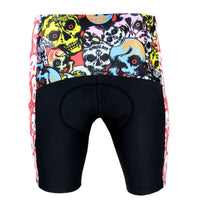 Skull Scream Cycling Padded Bike Shorts Spandex Clothing and Riding Gear Summer Pant Road Bike Wear Mountain Bike MTB Clothes Sports Apparel Quick dry Breathable NO. DK088 -  Cycling Apparel, Cycling Accessories | BestForCycling.com