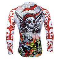 ILPALADINO Skull Men's  Long Sleeves Cycling Jersey Pro Cycle Clothing Racing Apparel Outdoor Sports Leisure Biking T-shirt Spring Autumn 088 -  Cycling Apparel, Cycling Accessories | BestForCycling.com