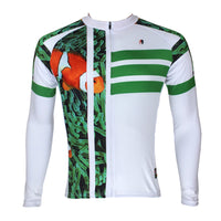 ILPALADINO Animal Clown Fish Sea Grass Man's Short/long-sleeve Blue Cycling Jersey Team Kit Jacket Pro Cycle Clothing Racing Apparel T-shirt Summer Spring Suit Spring Autumn Clothes Sportswear NO.089 -  Cycling Apparel, Cycling Accessories | BestForCycling.com