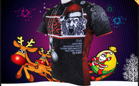 Hot Sale Cycling Jersey Cycling Clothing Wholesale Spring and Summer Men's Long-sleeved Jersey Santa Claus Design Christmas Gifts Black and Red NO.090 -  Cycling Apparel, Cycling Accessories | BestForCycling.com