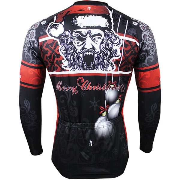 ... Hot Sale Cycling Jersey Cycling Clothing Wholesale Spring and Summer  Men s Long-sleeved Jersey Santa ... 8f1682c2a