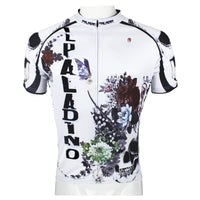 Skull Men's Summer Cycling Short Jersey Flower Blossom T-shirt 091 -  Cycling Apparel, Cycling Accessories | BestForCycling.com
