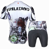 ILPALADINO Flower Blossom&Skull Men's Summer Cycling Short-sleeve Suit Bike Exercise Bicycling Pro Cycle Clothing Racing Apparel Outdoor Sports Leisure Biking Shirts SportsWear Quick—dry Shirt 091 -  Cycling Apparel, Cycling Accessories | BestForCycling.com