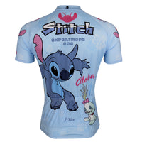 Ilpaladino Stitch Man's Spring Summer Sportswear Short/long-sleeve Cycling Jersey Bicycling Pro Cycle Clothing Racing Apparel Outdoor Sports Leisure Biking T-shirt  Lilo & Stitch Cartoon World NO.98 -  Cycling Apparel, Cycling Accessories | BestForCycling.com
