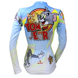 Ilpaladino Tom And Jerry Cats and Mouses Woman's Short/Long-sleeve Bike Shirt Cycling Jersey/Suit Bicycling Pro Cycle Clothing Racing Apparel Outdoor Sports Leisure Biking T-shirt Sportswear Cartoon World NO.099 -  Cycling Apparel, Cycling Accessories | BestForCycling.com