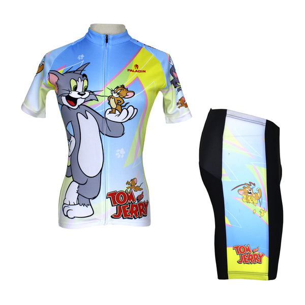 Tom And Jerry Cats and Mouses Woman's Short/Long-sleeve Bike Shirt Cycling Jersey/Suit T-shirt NO.099 -  Cycling Apparel, Cycling Accessories | BestForCycling.com