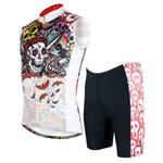 Ilpaladino Skull Men's Cycling Sleeveless Bike jersey/suit T-shirt Summer Spring Road Bike Wear Mountain Bike MTB Clothes Sports Apparel Top NO. W088 -  Cycling Apparel, Cycling Accessories | BestForCycling.com
