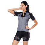 Grey Women's Cycling Short-sleeve Bike Jersey/Kit T-shirt Summer Spring Road Bike Wear Mountain Bike MTB Clothes Sports Apparel Top / Suit NO. 795 -  Cycling Apparel, Cycling Accessories | BestForCycling.com