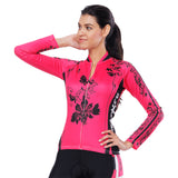 Black Flower Pink Red Women's Cycling Short-sleeve/Long-sleeve Bike Jersey/Kit T-shirt Summer Spring Road Bike Wear Mountain Bike MTB Clothes Sports Apparel Top / Suit NO. 794 -  Cycling Apparel, Cycling Accessories | BestForCycling.com