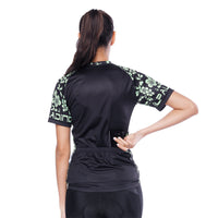 Green Decor Flowering Branch Women's Cycling Short-sleeve Bike Jersey T-shirt Summer Spring Road Bike Wear Mountain Bike MTB Clothes Sports Apparel Top NO.792 -  Cycling Apparel, Cycling Accessories | BestForCycling.com
