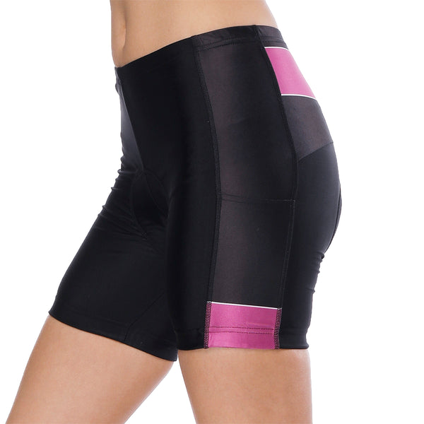 Night Cat Heart Window Purple Womans Cycling Spinning Padded Bike Shorts UPF 50+ Spandex Clothing and Riding Gear Summer Pant Road Bike Wear Mountain Bike MTB Clothes Sports Apparel Quick dry Breathable NO. 808 -  Cycling Apparel, Cycling Accessories | BestForCycling.com