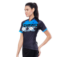 Blue Mesh Splicing Black Women's Cycling Short-sleeve Bike Jersey T-shirt Summer Spring Road Bike Wear Mountain Bike MTB Clothes Sports Apparel Top NO. 797 -  Cycling Apparel, Cycling Accessories | BestForCycling.com