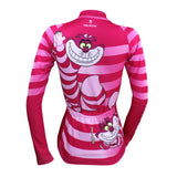 Big Mouth Cat Grinning Women's Long/Short-sleeve Cycling Jersey/Suit Kit No.100 -  Cycling Apparel, Cycling Accessories | BestForCycling.com
