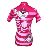 June Special Offer-Big Mouth Cat Grinning Women's Long/Short-sleeve Cycling Jersey Summer Spring Autumn Pro Cycle Clothing Racing Apparel Outdoor Sports Leisure Biking shirt Cartoon World Pink No.100 -  Cycling Apparel, Cycling Accessories | BestForCycling.com