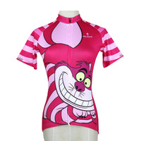 Ilpaladino Big Mouth Cat Grinning Women's Long/Short-sleeve Cycling Jersey/Suit Summer Spring Autumn Pro Cycle Clothing Racing Apparel Outdoor Sports Leisure Biking shirt Cartoon World Sport Kit No.100 -  Cycling Apparel, Cycling Accessories | BestForCycling.com