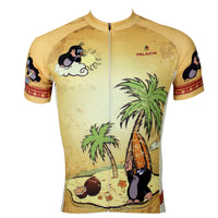 The Mole Family Father and Son Mole Comes To Town - Mens Short-sleeve Cycling Jersey  NO.113 -  Cycling Apparel, Cycling Accessories | BestForCycling.com