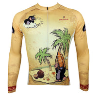 The Mole Family Father and Son Mole Comes To Town - Mens Short-sleeve Cycling Jersey Breathable Sports Bicycling Shirts Summer Quick Dry NO.113 -  Cycling Apparel, Cycling Accessories | BestForCycling.com