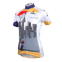 Ilpaladino City& Black Cat Women's Quick Dry Short-Sleeve Cycling Jersey Biking Shirts Breathable Summer Apparel Outdoor Sports Gear Wear NO.601 -  Cycling Apparel, Cycling Accessories | BestForCycling.com