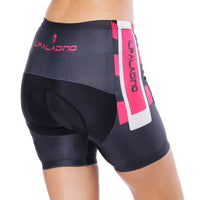 Black Flower Pink Red Womans Cycling Spinning Padded Bike Shorts UPF 50+ Summer Pant Road Bike Wear Mountain Bike MTB Clothes Sports Apparel Quick dry Breathable NO. 794 -  Cycling Apparel, Cycling Accessories | BestForCycling.com