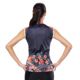 Elegance Tropical Plant Flower Women's Cycling Sleeveless Bike Jersey/Suit T-shirt Summer Spring Road Bike Wear Mountain Bike MTB Clothes Sports Apparel Top Kits NO. 791 -  Cycling Apparel, Cycling Accessories | BestForCycling.com