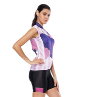 Night Cat Heart Window Purple Women's Cycling Sleeveless Bike Jersey/Kit T-shirt Summer Spring Road Bike Wear Mountain Bike MTB Clothes Sports Apparel Top / Suit/ Shorts NO.808 -  Cycling Apparel, Cycling Accessories | BestForCycling.com