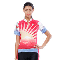 Flying Fish Carps Red Pink Women's Cycling Short-sleeve Bike Jersey/Kit T-shirt Summer Spring Road Bike Wear Mountain Bike MTB Clothes Sports Apparel Top / Suit NO. 806 -  Cycling Apparel, Cycling Accessories | BestForCycling.com