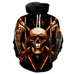 Chain Black Hoodies Sweatshirt Long Sleeve Hooded Pullover with Pockets Spring Autumn NO.1319 -  Cycling Apparel, Cycling Accessories | BestForCycling.com