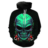 Insidious Skull Black Hoodies Sweatshirt Long Sleeve Hooded Pullover with Pockets Spring Autumn NO.1338 -  Cycling Apparel, Cycling Accessories | BestForCycling.com