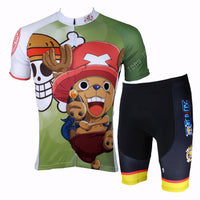 ONE PIECE Series Men's Short-sleeve Cycling Suit Team Jacket T-shirt Summer Suit Spring Autumn Clothes Sportswear Cartoon World Anime Animation Ace/Luffy/Zoro/Chopper/Brook/Usopp/Sanji/Franky -  Cycling Apparel, Cycling Accessories | BestForCycling.com