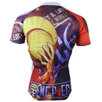 ONE PIECE Members Luffy Man's Summer Cycling Jersey  Spring Autumn Shirts -  Cycling Apparel, Cycling Accessories | BestForCycling.com