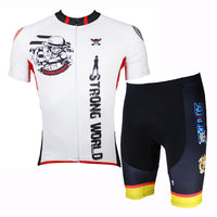 Strong World Pirates ONE PIECE Series Sea Kings Men's Cycling Suit Jersey Team Jacket T-shirt Summer Spring Autumn Clothes Sportswear Cartoon World Monkey D. Luffy Gum-Gum Devil Fruit Eater NO.139 -  Cycling Apparel, Cycling Accessories | BestForCycling.com