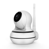 13P WiFi Wireless IP Home Office Security White Camera Night Vision APP Human Tracking Camera with Pan 355° Tilt 60° Child Baby Pet Care Security Online Watching Cry Alarm detecting Built-in Nursery Rhymes Motion Detection -  Cycling Apparel, Cycling Accessories | BestForCycling.com